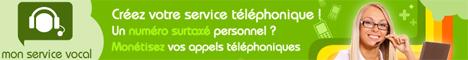 MonServiceVocal.fr - Rémunérez vos appels
